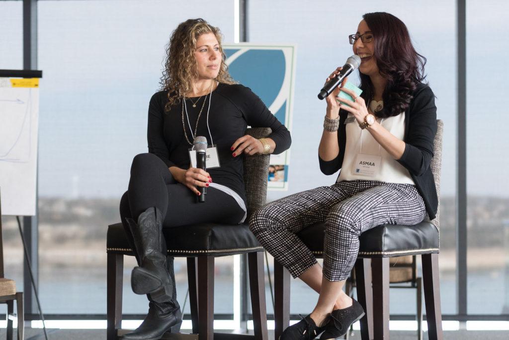 Asmaa Methqal Speaking at Quantum Leap Mastermind 2018 Retreat